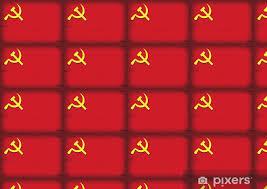 Carta da parati inneggiante il comunismo