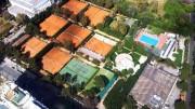 Un'immagine aerea del Circolo del Tennis Palermo, sede storica sita in via del Fante ad 1Km dallo Stadio comunale.