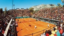 Tempi d'oro: un momento del doppio Italia - Usa di Coppa Davis (Palermo 1995).