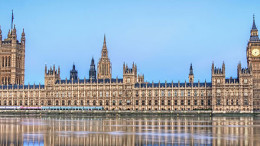 Westminster palace, sede dell'English parliament.
