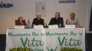 Un momento del seminario. Si riconoscono la Dott.ssa Pina Petralia, Mons. Michele Pennisi, Don Salvatore Vitiello, Avv. Arturo Bongiovanni.