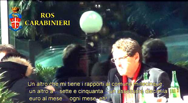 Da una telefonata di Salvatore Buzzi: in carcere ma non per mafia