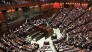 Camera dei deputati in piena attività...