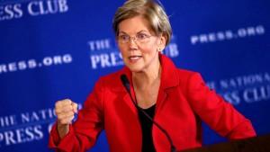 Elizabeth Warren è certamente una self madewoman. Molto aggressiva, non i èancora selezionata per i democratici (si attendonole primrie) magiàattacca Trumpchiedendomnel'empeachment. Fra i suoi bersagli anche la Aple...