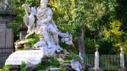 Il Genio della Villa Giulia, opera settecentesca del Marabitti. In tutto a Palermo fra statue, un arazzo e una pittura muraria  (a Villa Igiea) risultano 16 raffigurazioni del Genio...