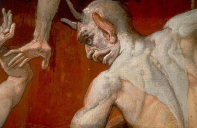 """Ridurre il demonio ad una figura puramente simbolica sembra già di per sé un azzardo: certamente è una rappresentazione del Male, ma la sua presenza è purtroppo """"presenza reale"""", constatata nel corso della storia dell'umanità e dalla stessa Sacra Scrittura in varie occasioni. (Da La luce di Maria su Google). Se il Diavolo fosse stato inventato è certamente una bella invenzione per rappresentare la presenza del Male."""