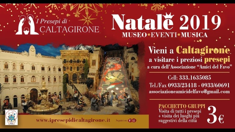La collezione dei presepi di Caltagirone è composta da oltre 2500 esemplari provenienti da tutti i continenti.