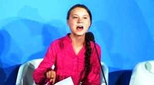 Greta accusa un mondo di ciechi e di sordi: lei sa esattamente e con certezza che il pianeta andrà dritto in faccia alla catastrofe in pochi anni...