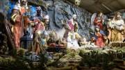 Nel presepe umbro la grotta ha un ruolo da protagonista assoluta.
