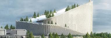 """Il Termovalorizzatore di Copenaghen, presso il centro cittadino, non è il solo ad essere stato realizzato come """"un'isola verde"""": inquinamento zero. Risultato: eliminazione del problema dei rifiuti."""
