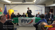 Il consigliere nazionale Ignazio Florio Pipitone parla nel corso dell'assemblea.