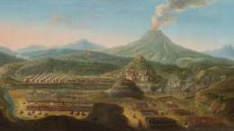 La battaglia di Francavilla nel dipinto del pittore olandese Orazio Grevenbroeck. La battaglia ebbe grande importanza strategica sullo scacchiere europeo  allontanando gli Spagnoli per 14 anni dal cuore del Mediterraneo.