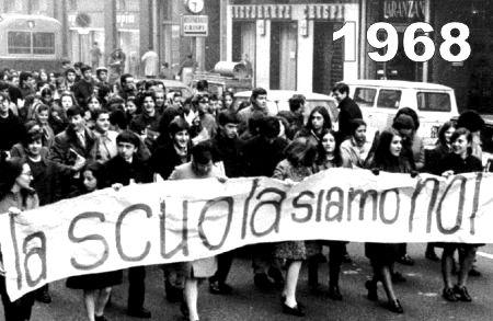 """Che lo studente fosse protagonista era già l'obiettivo della """"Riforma Gentile"""" che nessuno aveva """"osato"""" modificare dall'anteguerra fino ad allora. Oggi siamo più o meno al """"disastro"""" della cultura scolastica..."""