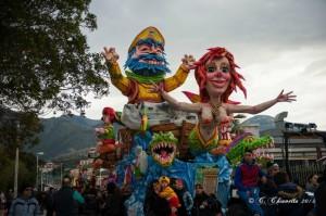Una recente edizione del Carnevale di Termini.