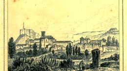 Una antica stampa del territorio di Termini Imerese. In virtù della favorevole esposizione, del microclima e della natura dei luoghi, il primo nucleo abitato risale alla preistoria.