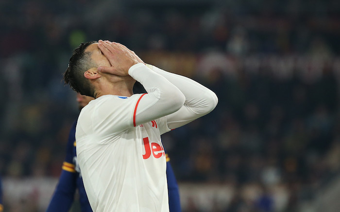 Lo scoramento di Ronaldo. Ph Carlo Hermann/KontroLab