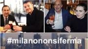 I disinvolti 'aperitivi' di Sala e Zingaretti. Il peggio è che avessero un tono'dimostrativo'.