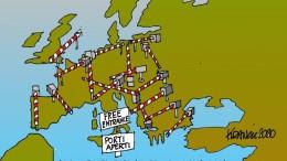 """L'Europa non è unita. Ecco le barriere in tempi di immigrazione e coronavirus. Non è un problema di costume: rivalità di mercato si oppongono al funzionamento 'ideale' dell'Unione. Nessuno si sogna di paragonare l'Unione europea ad una nazione. Si dovrà attendere il giorno in cui, parafrasando i famosi versi di Marzo 1821: """"non fia loco ove sorgan barriere fra l'Europa e l'Europa mai più"""". Il Manzoni parlava ovviamente dell'Italia."""