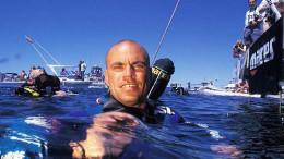 Il cubano Pipin Ferreras, spesso in Italia. Un rappresentante del fantastico mondo dell'apnea profonda.