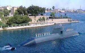 Sommergibile invisibile Scirè ad idrogeno. Un blocco navale 'chirurgico' davanti alla Libia e all'Egitto sarebbe un gioco.