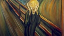 'La paura' di Munch resta la prima immagine che viene in mente a proposito di questo sentimento ancestrale, nato con l'umanità. Forse ...un peso in più dopo la cacciata dal Paradiso terrestre...
