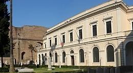 La sede principale del Museo Nazionale Romano presso le terme di Diocleziano.