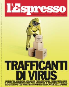La copertina dell'Espresso di qualche anno fa.