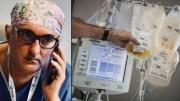 """The good doctor: """"Pronto? Sì sono il dottor De Donno. Sì, il plasma rende immuni i sani, e salva i malati!"""""""
