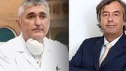 De Donno e Burioni, famosi come lo furono tanti anni fa Bruneri e Canella. Chi dei due dice il vero? Il Medico o ...l'esperto? Il secondo si fa  'paladino' del vaccino nei talk show. E' l'esperto di fiducia di Fabio Fazio...