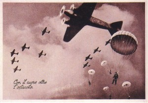 Paracadutisti italiani della Divisione Folgore ad El Almein