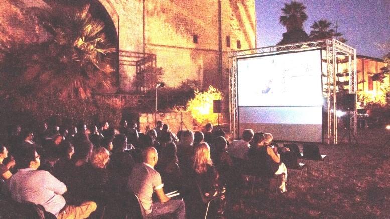 SoLeluna DFF, lo schermo Giardino 2019 (Ph. Luca Vitello)