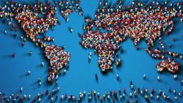 Si teme la globalizzazione, ma anche la deglobalizzazione. L'equilibrio si chiama glocal. In ogni caso il mondo è ben meno popolato da quanto sembri alludere questa immagine. In anni recenti si è molto prlato di 'difesa della cultura dell valle', ma....