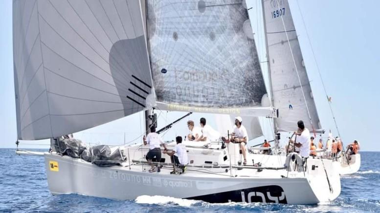 Joy, il 'tiratissimo' yacht palermitano che ha dominato la Cinque fari 2020.