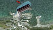 Il porto come sarà: le nuove opere sono sovrapposte alla realtà esistente che sarà ampliata e integrata.