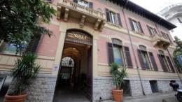 Lo storico Palazzo Petix in via E. Albanese sede centrale della BPSA a Palermo.