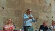 Sgarbi parla al Castello Maniace dell'ormai certo trasferimento del Caravaggio siracusano all'esposizione di Rovereto.