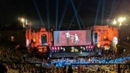 Taofilmfest 66. Le prime immagini delle splendide serate nella cornice del teatro antico.