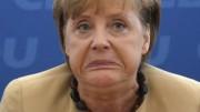 Un atteggiamento di disdetta della Merkel (Fonte foto Il Giornale.it)