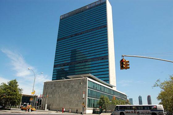 Palazzo ONU New York City (Manhattan). Ph. www.architetturaeviaggi.it