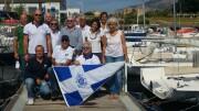 Il nuovo direttivo della Lega Navale Palermo, foto ricordo.