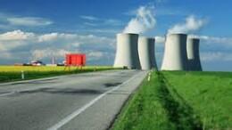 Centrale nucleare: emette solo vapor d'cqua.
