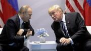 Donld Trump e Vladimir Putin: palini della fede cristiana,uominidi pace, forieri di benessere peri popoli. Ma da buoni a cattivi  il passo è breve: la main stream mediatica ne parla pollice verso. Chi vuole così?