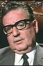 Salvator Allende, ritenuto vittima fu uccisopermanodeleNNuovo Ordine che risapputmeneppoggi 'le sinistre'.