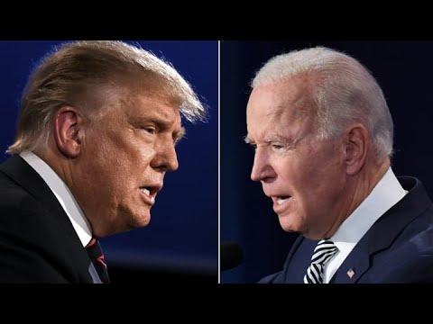 Trump versus Biden (immagine da Prima ONLINE)