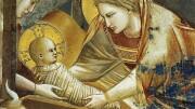 Quando si parla di di Gesù ricordiamo sempre Giotto d Bondone, grande innovatore, grande poeta, grande cristiano. Ebbe la fortuna di conoscere l'opera di San Francesco, dipinse in affresco agli Scrovegni le famose 'Storie' dedicate al più ssmnto degli italiani. Chiamò i due figli Francesco e Francesca...