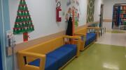 L'arredo fornito dal Rotary Club Palermo al reparto di Oncoematologia Pediatrica dell'Ospedale A.R.N.A.S. Civico