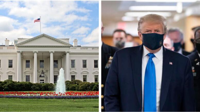 Trump alla casa Bianca: non è vero che è un no mask, un negazionista accanito. Senza il Covid, di cui è stato colpevolizzato mdiaticamente, nessuno dubita che l'America avrebb avuto lo stesso presidente pe i porssimi 4 anni. Avrebbe proseguito nella sua politica di pace, spacciata per 'aggressiva'.