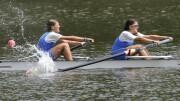 Giorgia e Serena Lo Bue in azione.