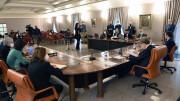 Un momento della conferenza alla Presidenza della Regione siciliana.