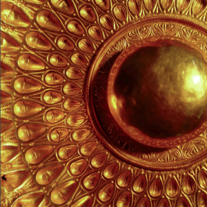 Fiale d'oro particolare